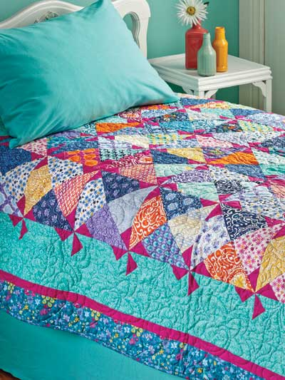Pinwheels in Preview Quilt Pattern