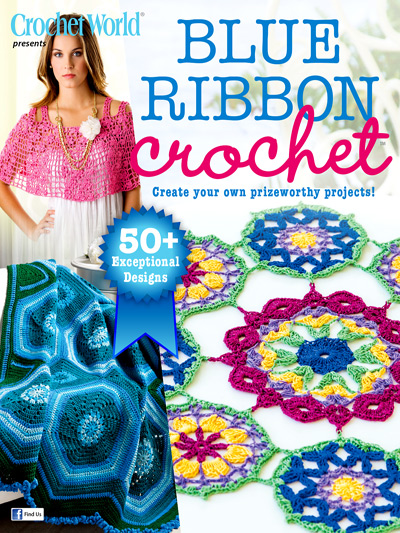 Blue Ribbon Crochet