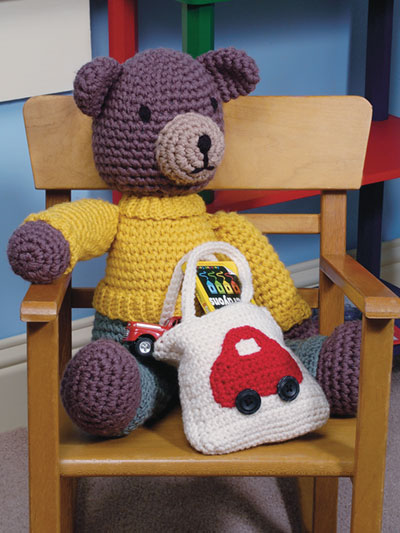 Play With Me Bear Crochet Pattern