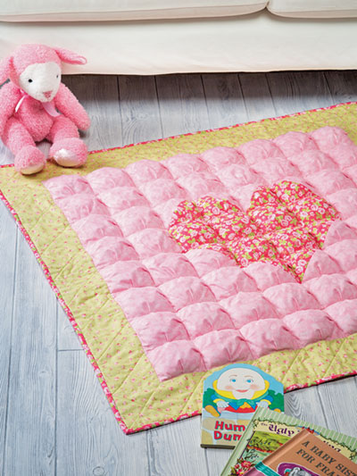 EXCLUSIVELY ANNIE'S QUILT DESIGNS: Puffy Heart Quilt Pattern