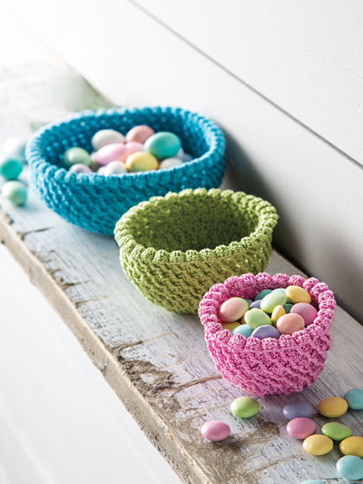 Little Bits Bowls Crochet Pattern