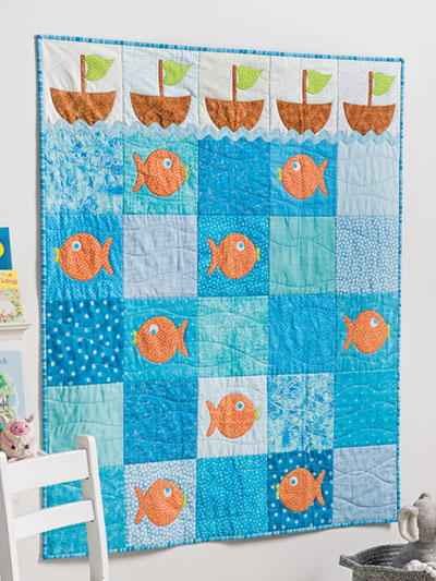 EXCLUSIVELY ANNIE'S QUILT DESIGNS: Come Sail Away Quilt Pattern