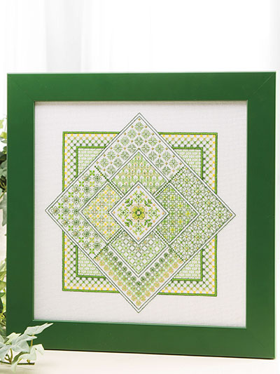 Viviana Cross Stitch Pattern