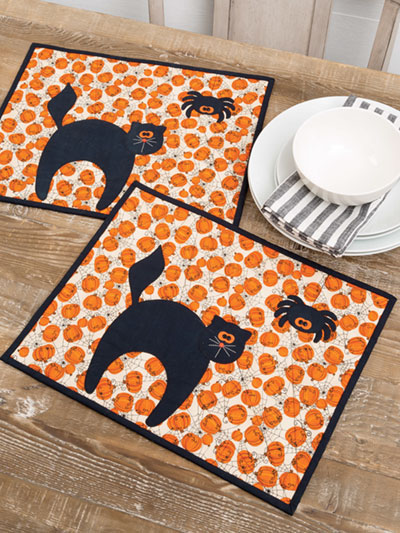 Frightful Meal Place Mat Quilt Pattern