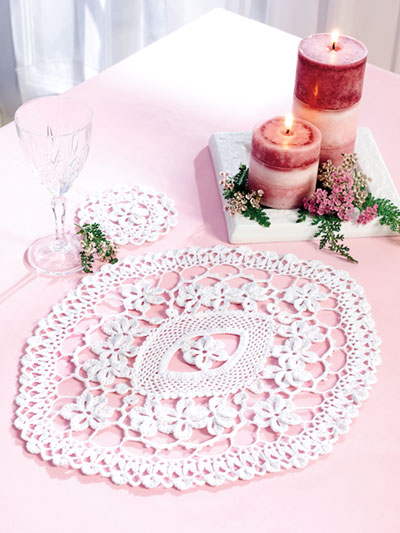 Lovely Doilies Crochet Pattern