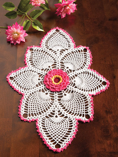 Gerbera Beauty Crochet Pattern